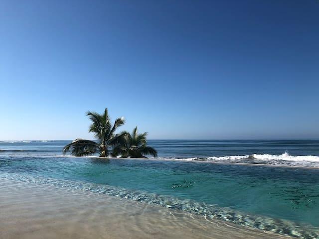 Casa Cuchara Saladita beachfront villas #2