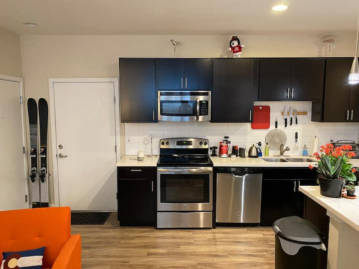Tryout Denver! Fully Furnished 1 Bedroom w Garage