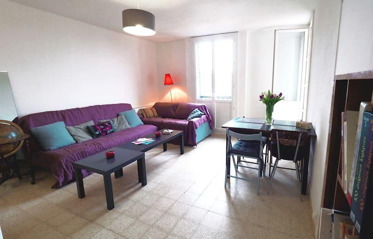 Appartement T3 Aix : soleil, calme, confort !