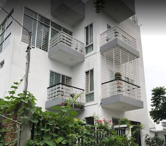 Apartment Room in Fully Natural Beauty in Dhaka.