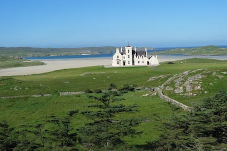 Uig Lodge, self-catered family holidays.