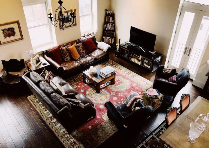 Luxury Loft Apartment w/ Rooftop Deck in Sewickley
