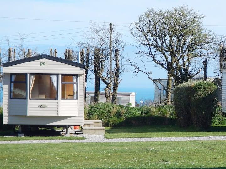 Pet Friendly Cornish Seaside Holiday Caravan SS20