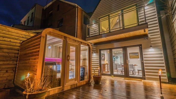 Liegeplatz 6 mit Sauna im Herzen Husums