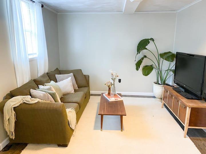 Sun Soaked Basement Apartment