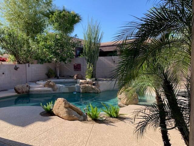 Scottsdale home in the exclusive neighborhood