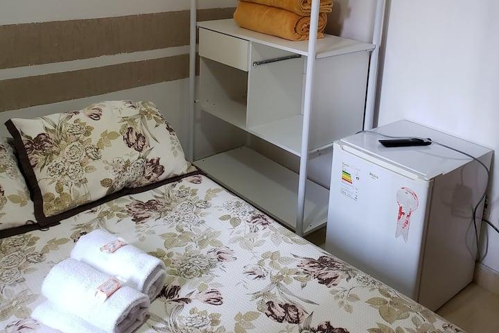 Suite Confort Dupla na Hospedaria Ipiranga