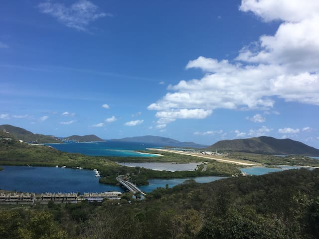 Caribbean Mesmerizing View Value Loft East-End BVI - Tortola - Huis