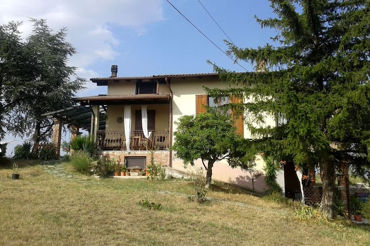 Farmhouse Stay at Santa Maria Lombardy with Pool
