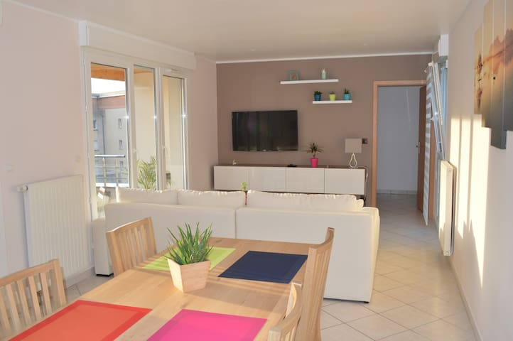 New appartement & private parking