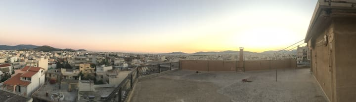 360 Athens view in Neo Heraklion