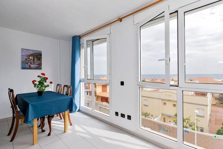 Ocean view, 1st line, El Medano