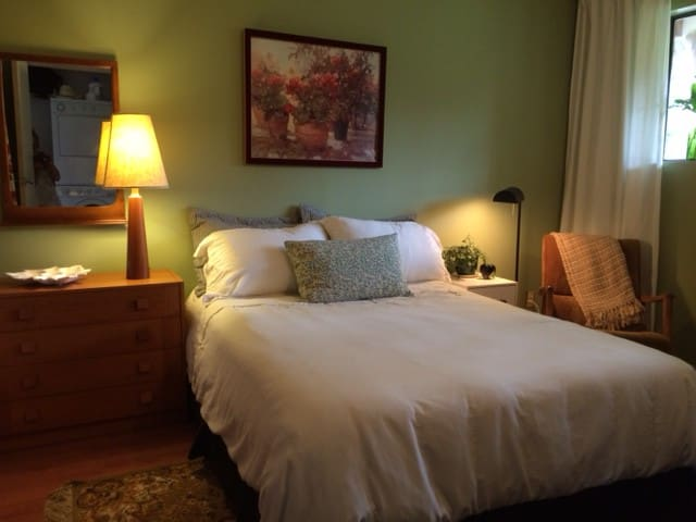 The Green Room Retreat - Courtenay - Casa