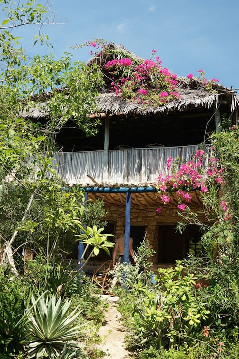 Blue Monkey Beach Cottage on Wasini Island