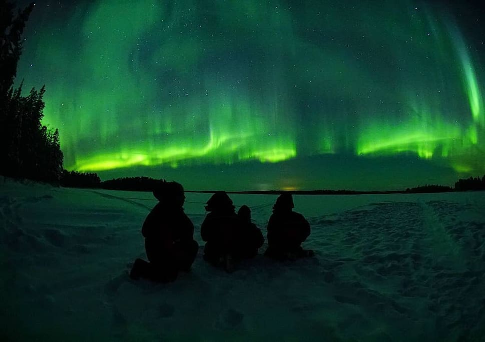Northern lights tour by 66 Arctic Adventures