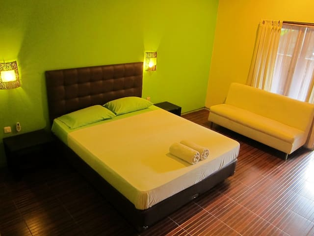 Room Sumbing at Atmos Co-Living