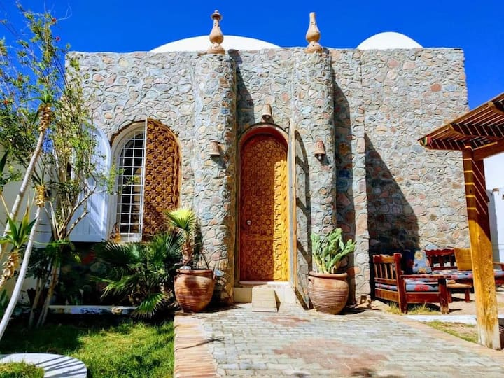 One Bedroom in a Gorgeous Stone Villa