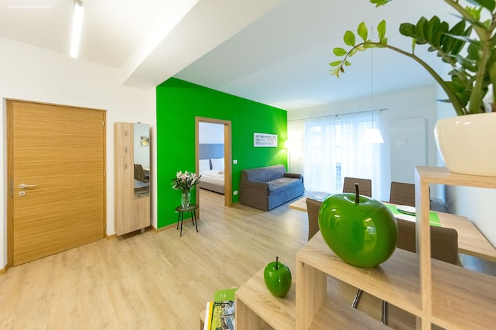Big design apartment in die heart of Bolzano