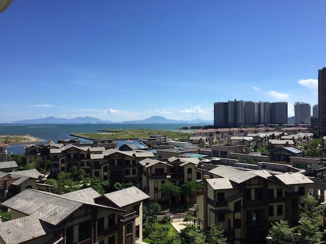 惠东碧桂园十里银滩360度海景四房 - 惠东