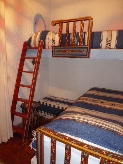 Echelle du lit superieur