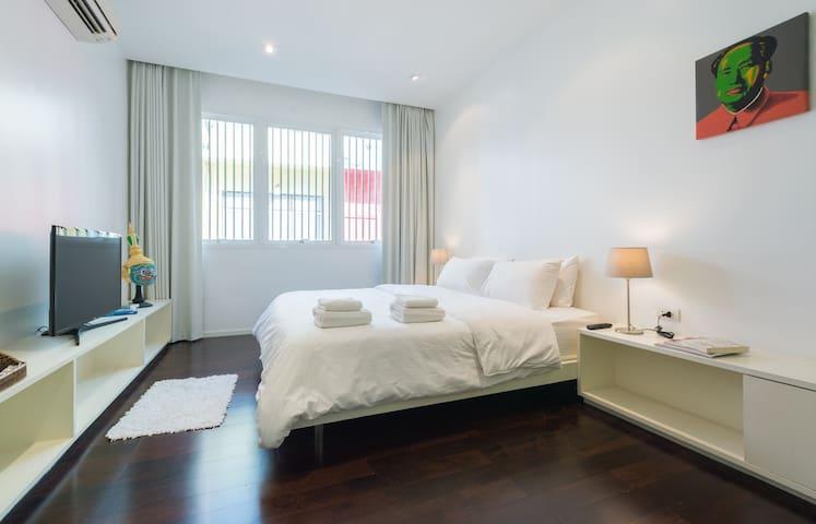 Modern Apartment (BTS/MRT, EMQuartier, free WIFI) - Bangkok - Daire
