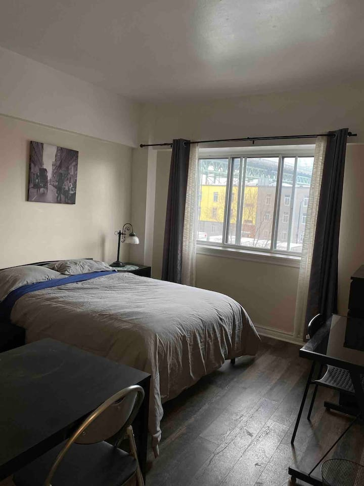 #406 Cozy studio in front of station Papineau