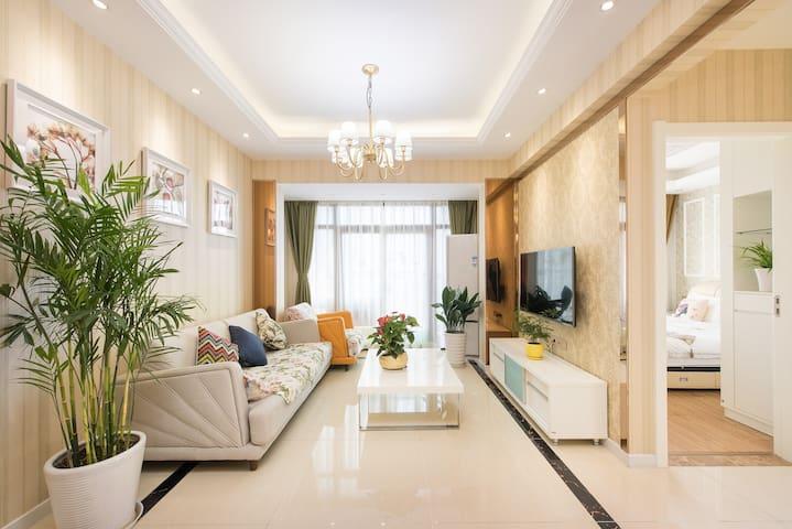高档小区内豪华景观套房(京华城金鹰旁) - Yangzhou - House