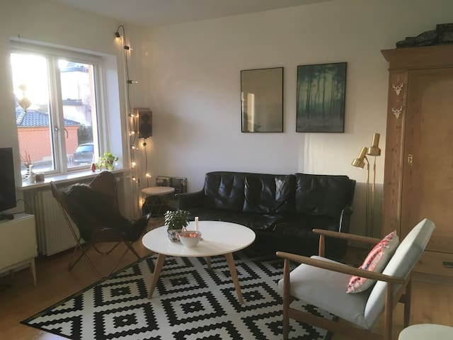 Cozy flat in a quiet area, yet close to the center