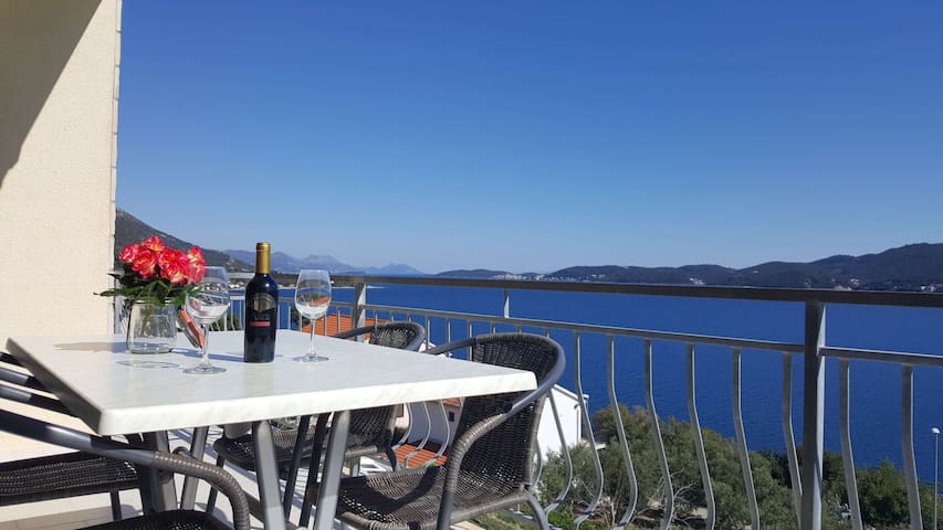 Apartment Ignis w. amazing seaview Viganj Peljesac