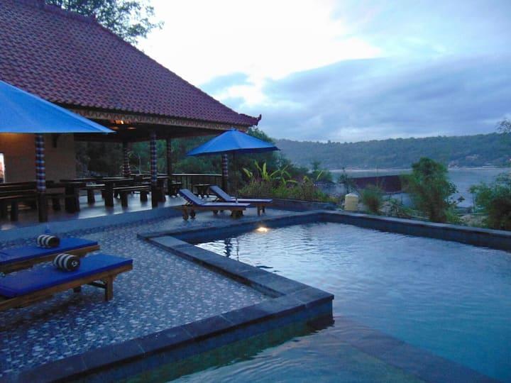 Beach View Garden Villa 4, Starfish Lembongan