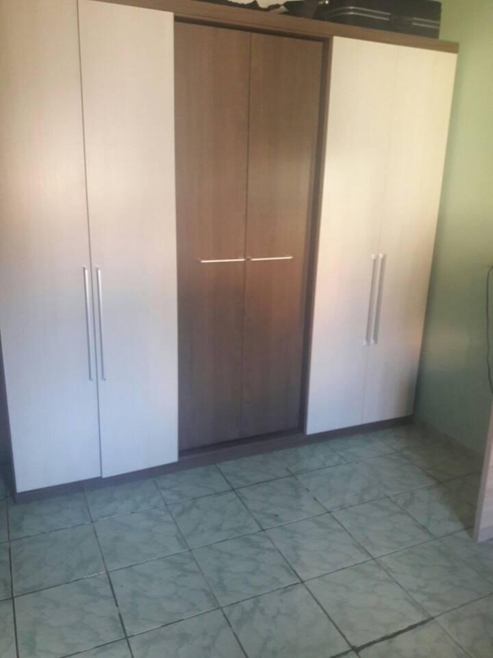 Quarto,sala e cozinha
