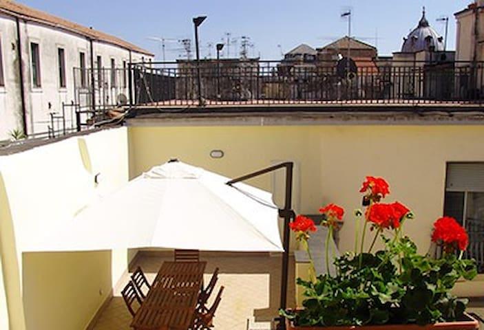 Princess Terrace-Vesuvio room - Nápoles - Apartamento