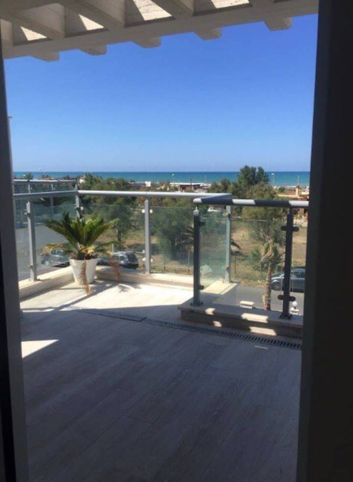 Villa Coco with a panoramic sea view