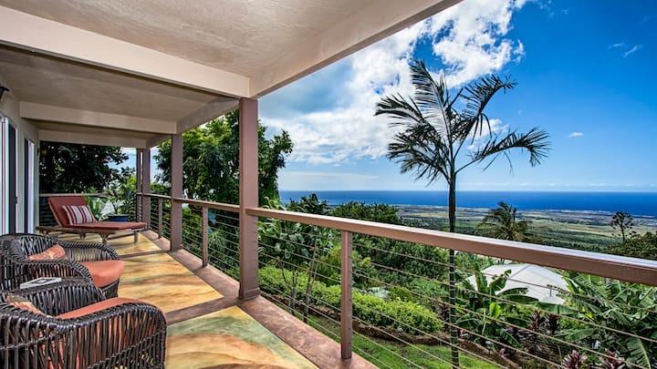 Beautiful Hillside Oceanview Home
