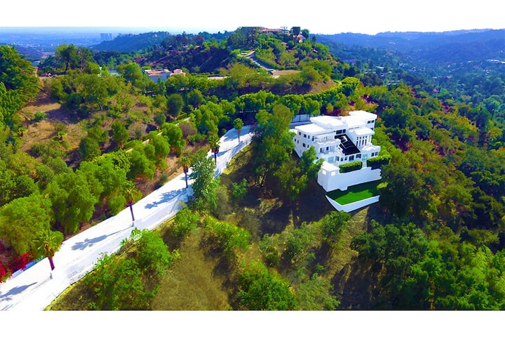 Award Winning Beverly Hills Private Gated Mansion