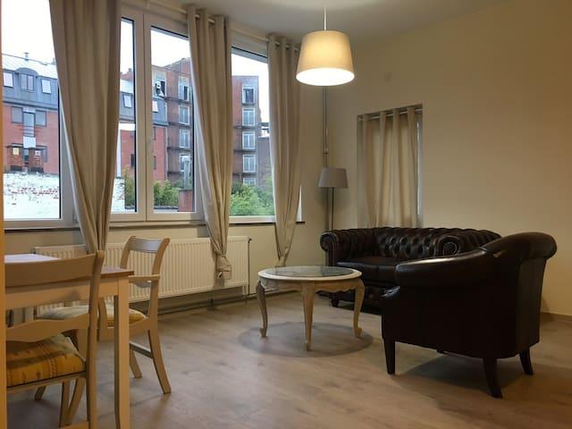 Appartement 1 chambre au coeur de Mons - Mons - Apartamento