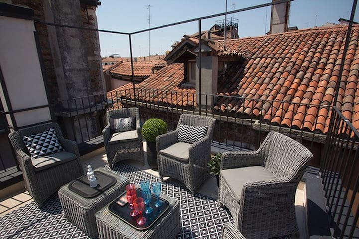 Charming Town House with terrace