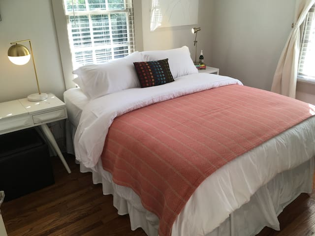 Private Room in Charming Garden District Apartment