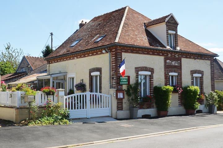 maison d'hôtes de villiers - Villiers-Saint-Georges - House