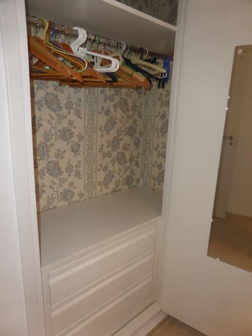 Armario empotrado vestido habitación principal