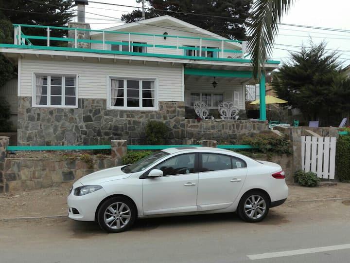 Casa frente a la playa en Los Molles