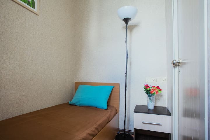 Super compact room for 1, 5 min metro center