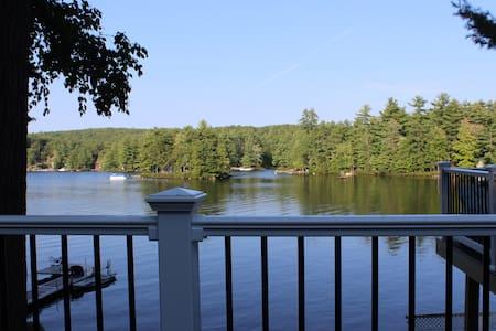 Beautiful lakefront home on Little Sebago Lake