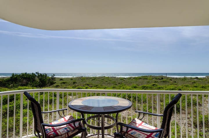 Over the Dunes-Enjoy the breathtaking views from this beautifully decorated 1st floor condo!