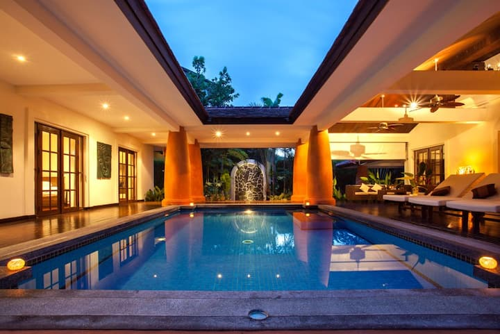 Stunning Balinese villa with pool