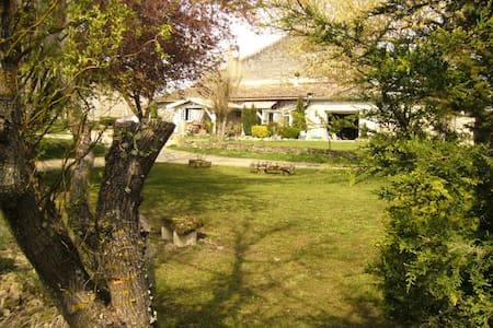 maison avec parc , piscine - Sauveterre-de-Guyenne