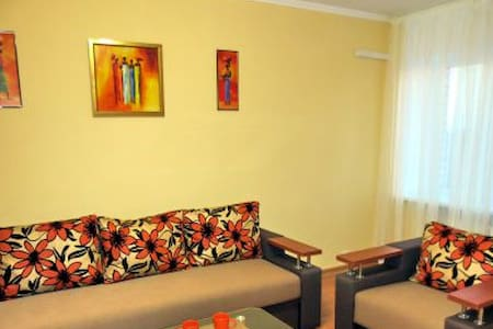 2 room appartament, 1 double bed+1 double sofa - Cherkasy - 公寓