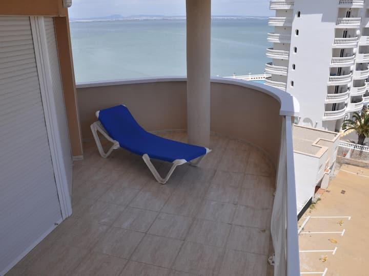 Apartments on the beachfront. Ref.Vistamar-45