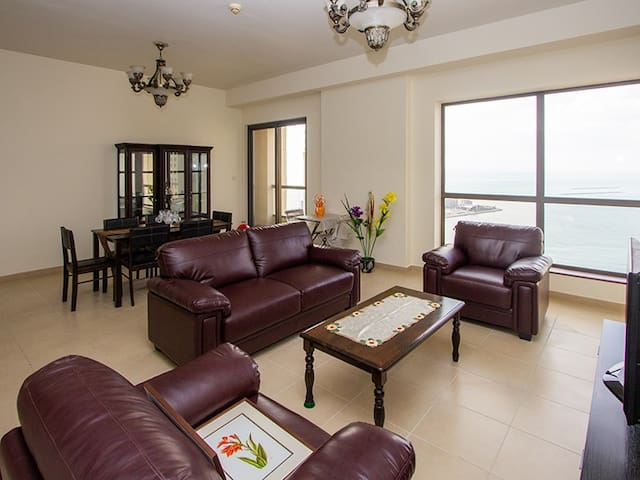 FULLY FURNISHED 2 BEDROOM APARTMENT IN JBR , DUBAI
