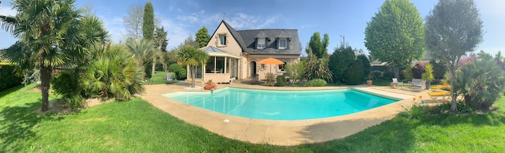 A louer superbe villa avec piscine